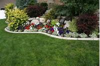 flower bed design ideas Gardening & Landscaping : Annual Flower Bed Designs ~ Interior Decoration and Home Design Blog