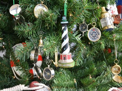Buy Cape Hatteras Lighthouse Christmas Tree Ornament