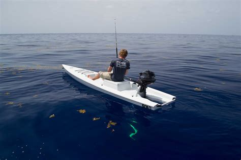 Skiff Fishing by Skiff A Fishing Kayak Skiff And Sup In One