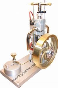 Butane Gas Powered Engine - Single Cylinder 1S with Piezo ...