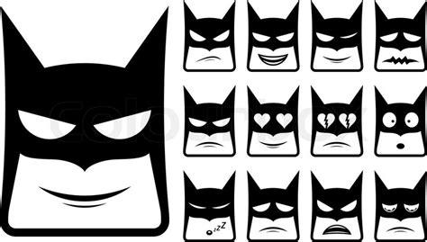 batman smiley symbole vektorgrafik colourbox