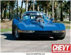 supercharged blown chevrolet corvette stingray show