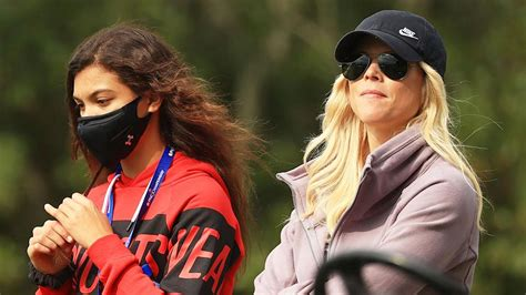 Golf: Tiger Woods ex alongside girlfriend in 11-year first