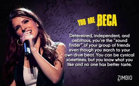 Which 'pitch Perfect' Character Are You?