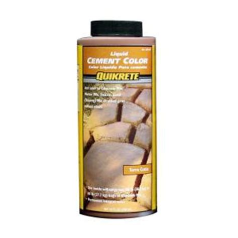 depot quikrete quikrete 10 oz liquid cement color terra cotta 131704 Home