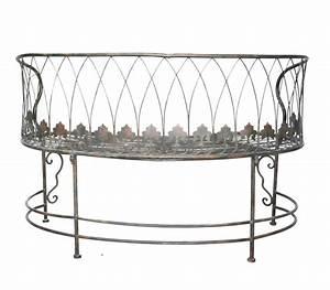 Banc De Jardin Fer Forgé : grand banc vert de gris en fer forg demeure et jardin ~ Dailycaller-alerts.com Idées de Décoration