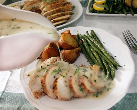 Maybe you would like to learn more about one of these? Mother Sauce: Velouté with Garlic and Herbs
