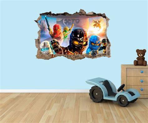 Ninjago Kinderzimmer Ideen by Lego Ninjago 3d Effekt Grafik Vinyl Aufkleber Wandtattoo