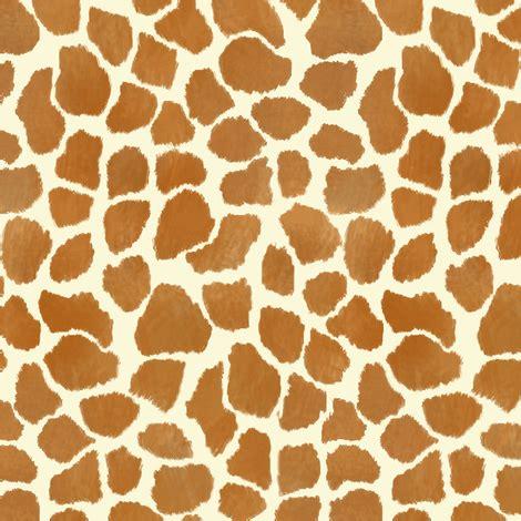 Animal Print Wallpaper Giraffe - giraffe spots fabric eclectic house spoonflower