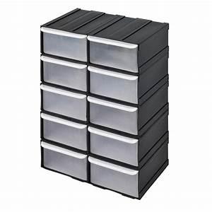 Casier A Tiroir : casier tiroirs plastiques casier vis rangement outils rangement mat riel tabli ~ Teatrodelosmanantiales.com Idées de Décoration