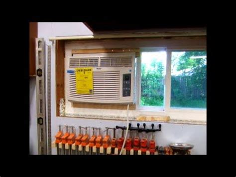 install window air conditioning ac  horzontal slider  casement window air conditioner