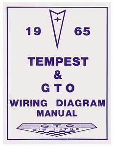 Wiring Diagram Manuals Fits 1965 Gto   Opgi Com