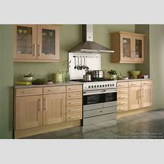 #kitchen Of The Day Shaker Beech Kitchen With Soft Green