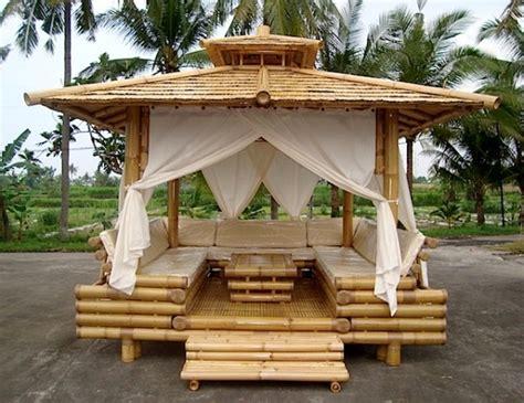 Salon De Jardin En Bambou exquisite bamboo wood gazebo home design garden