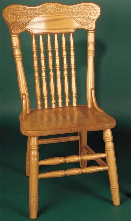 press  dining chair  dutchcrafters amish furniture