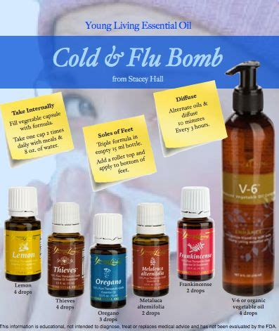 Young Living Essential Oil Cold and Flu Bomb