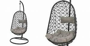 Fauteuil Suspendu Noir : fauteuil suspendu mod le bologne id al pour votre terrasse jardideco ~ Teatrodelosmanantiales.com Idées de Décoration