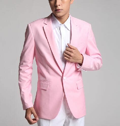 light pink tuxedo pink suit jacket dress yy
