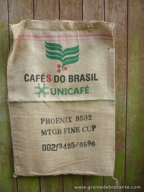 sacs  cafe en toile de jute