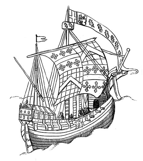 How To Draw A Tudor Boat by Ancient And Modern Ships Part I Wooden Sailing Ships By