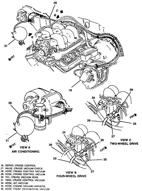 4 3 Chevy S10 Vacuum Diagram need vacuum diagram for 1994 s10 blazer 4 3 w cpi