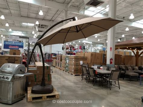sunbrella patio umbrella costco proshade parasol cantilever umbrella