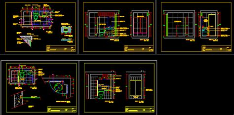 bathroom detail  autocad cad   kb