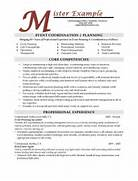 Resume Samples Types Of Resume Formats Examples And Templates Professional Resume Design Skylogic Design Pinterest Creative Resume Resume Sample EventPlanner Page1 Manager Resume Template Resume Templat Special Events Manager Resume