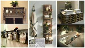 17 Pallet Projects You Can Make for Your Bathroom • Pallet