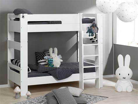 lit superpose blanc pas cher lits superpos 233 s enfant blanc