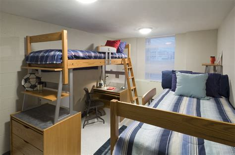 bed with ladder and desk guys dorm room idea present great wood metal loft bed with
