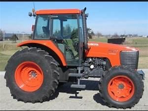 Kubota M95s M105s Tractor Service Repair Manual Instant