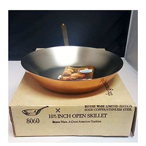 vintage  paul revere ware limited edition gourmet copper cookware set