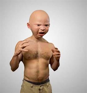 Creepy Baby Head Masks
