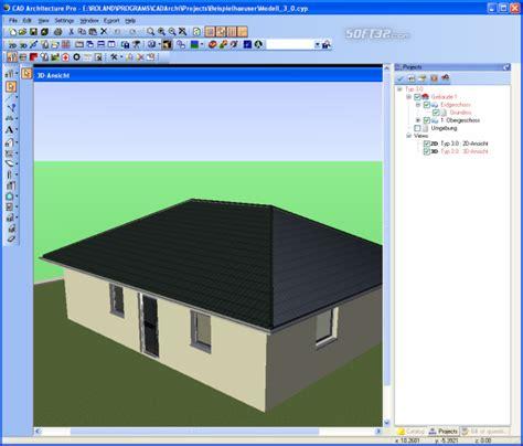 cad architecture pro architectural design software