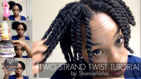 How To Two Strand Twist Your 4c Natural Hair