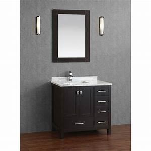 Buy, Vincent, 36, Inch, Solid, Wood, Single, Bathroom, Vanity, In, Espresso, Hm