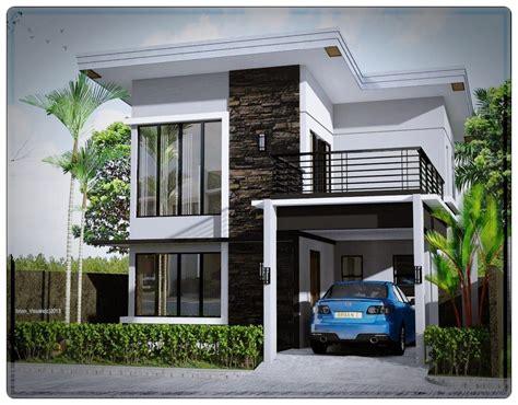 rumah mewah minimalis modern informasi desain  tipe rumah