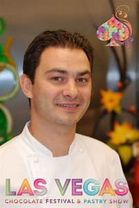 Claude Escamilla at the Las Vegas Chocolate Festival Executive Pastry Chef at Jean Philippe
