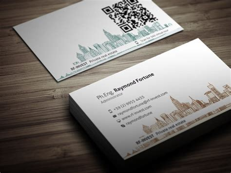 real estate business card templates  psd ai