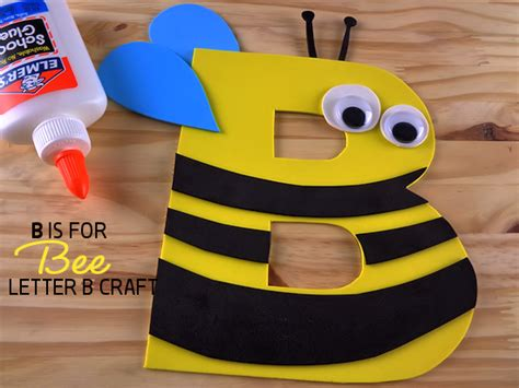 bee letter  craft  kid