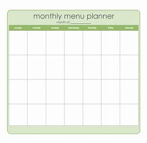 monthly menu template gallery With monthly dinner menu template