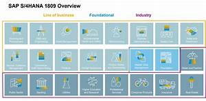 Sap S  4hana Modules And Industry Solutions