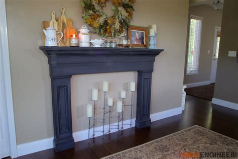 diy faux fireplace faux fireplace mantel surround 187 rogue engineer