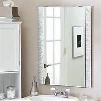 vanity mirrors for bathroom Brilliant Bathroom Vanity Mirrors Decoration Simple Wall ...