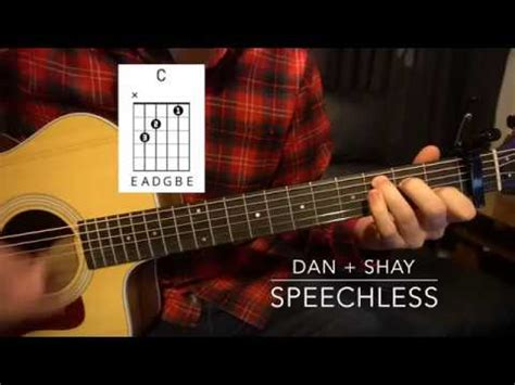 Easy Guitar Lesson (wchords!)  Dan + Shay Speechless