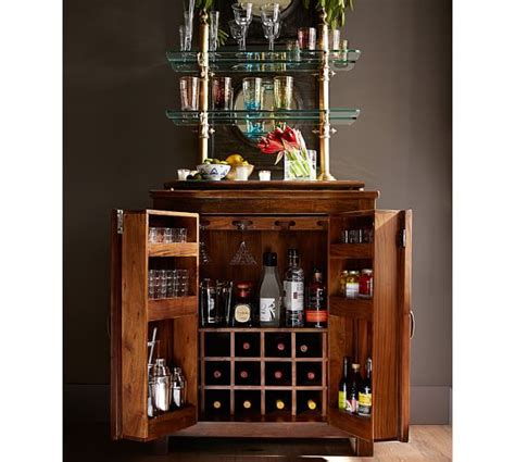 pottery barn wine cabinet bowry bar cabinet pottery barn
