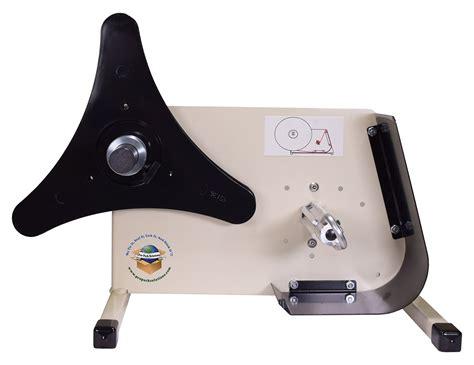 tal  manual crank handle label dispenser