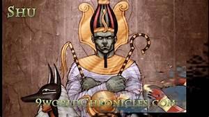 Shu Kemetic God Of Air And Wind  Greco Egyptian Mythology