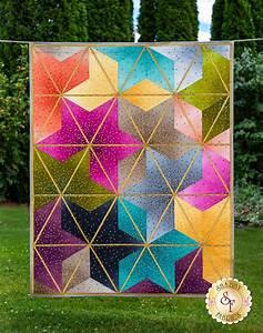 ombre blossoms quilt kit shabby fabrics